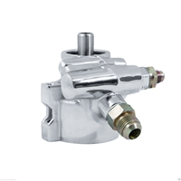 Top Street Performance GM Type II Power Steering Pump Chrome Finish