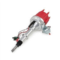 AMC Jeep 232-258 L6 Pro Series Ready to Run Distributor 6 cylinder straight red cap