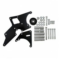 GM Car LS1/LS2 Alternator & Power Steering Relocation Bracket Black