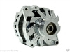 110 Amp Chrome Alternator GM chevy chevrolet single one wire chevy 1 serpentine