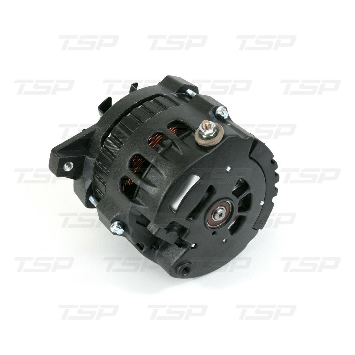 Gm Cs130 Style 160 Amp Alternator With Serpentine Pulley Black