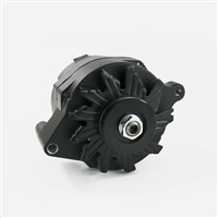 Ford 1G Black 110 Amp Alternator Single Wire 1 wire style built in regulator