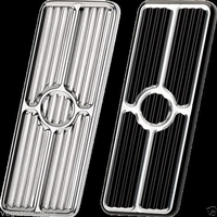 Billet Gas Pedal pad 1967 1968 1969 camaro firebird gas pedal polished aluminum