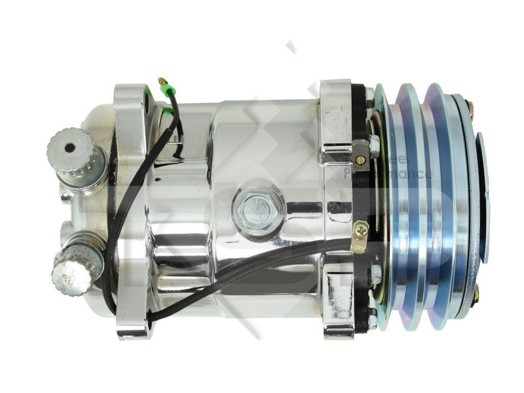 Air Compressor Serpentine Belt : Chrome sanden v compressor belt a c air