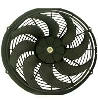 Universal Radiator Cooling Fans 12 inch with Curved s  Blades