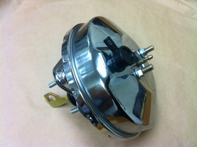 Chrome 9 Quot Brake Booster 1967 68 69 70 Ford Mustang