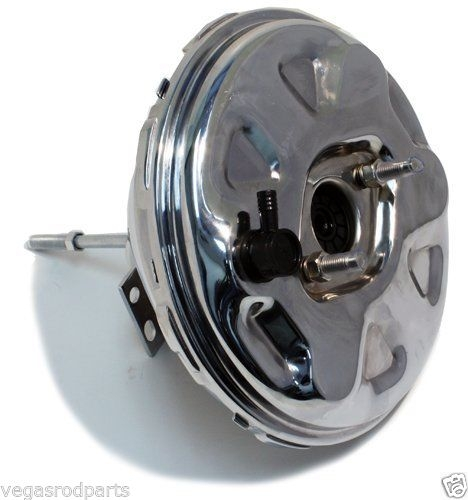 Chrome Chevy Single Diaphram Brake Booster 11 Inch Quot Gm