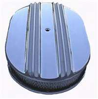 Half Finned Oval Air Cleaner Kits 12 inch