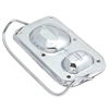 GM Chevy Master Cylinder Cover with Bail Brake Cap bendix chrome