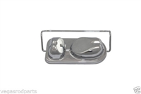 Chrome Master Cylinder Cover Ford,GM, Chevy, Brake Cap bendix