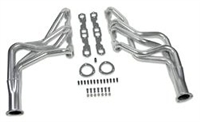 Chevy Truck Header Set chrome Steel Chevy GMC Small Block