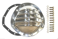 polished aluminum Differential Cover GM 8.875 Truck 12-Bolt chevy chevrolet