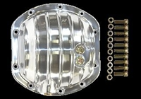 Differential Cover polished aluminum Dana 30 dodge jeep ford 4x4 bronco CJ 10 bolt