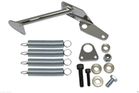 Throttle Return Spring Chrome Dual Spring Bracket for Holley carberators