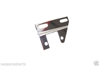 Chrome Header chevy chevrolet Alternator Bracket short water pump