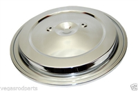 1993-95 CHEVY GMC TRUCK CHROME AIR CLEANER TOP fits original filter housing two