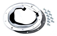 GM Chevy Chrome Rear End Differential Diff Cover Chevroletcamaro chevelle 10 bolt