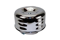 "4"" LOUVERED STYLE AIR CLEANER SET 1BBL 2BBL"