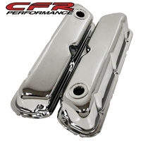 chrome steel Valve Covers Ford Small Block V8 302 5.0 289 351w 260 mustang truck