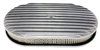"Chevy/Ford/Mopar 15"" Oval Polished Aluminum Air Cleaner - Full Finned"