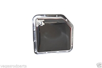 Automatic Transmission Oil Pan TH 350 chevy turbo chrome steel smooth with plug