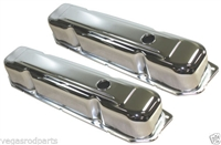 CHRYSLER DODGE MOPAR BIG BLOCK 383 426 440 CHROME valve cover chrome steel