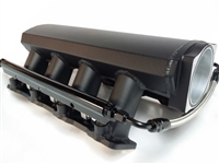 LS1 LS2 Ls6 Fabricated Aluminum Ram Air Intake Manifold Polished w/rails black