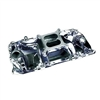 BBC CHEVY 454 Polished AirGap Aluminum Intake Manifold crosswind
