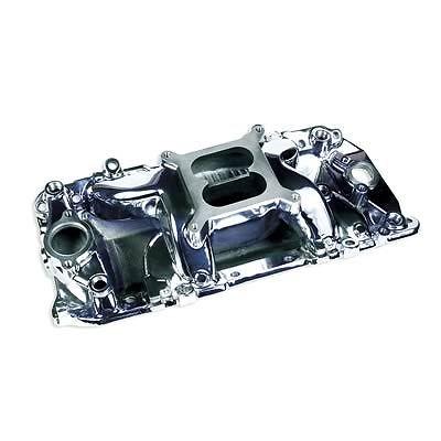 Bbc Chevy 454 Polished Airgap Aluminum Intake Manifold