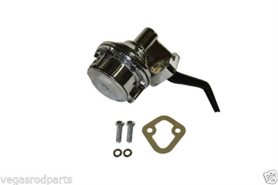 351w 289 302 221 Ford Chrome Plated Fuel Pump mechanical mustang truck