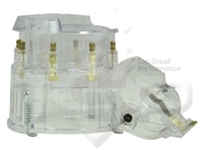 Small Big Block Chevy GM HEI Distributor CLEAR SUPER Cap and Rotor kit 327 305 350 454
