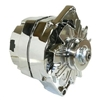 Chrome Alternator GM one wire 100 amp