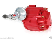 Ford SB 289 302 65K Coil HEI Electronic Distributor Red Cap mustang fairlane