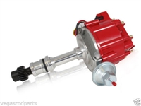 OLDMOBILE 65K Coil HEI Electronic Distributor - RED Cap cutlass 98 supreme 442