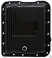 CHEVY/GM 700R4-4L60E-4L65E STEEL TRANSMISSION PAN - BLACK EDP