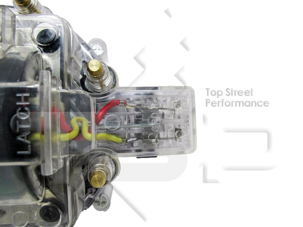 Small Big Block Chevy Gm Aluminum Hei Distributor Clear Cap 327 305 Mopar Wiring In 350 454