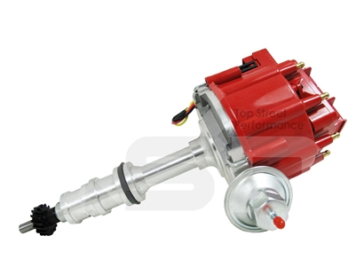 Ford 352 390 427 428 Big Block Hei Distributor V8 Fe Red
