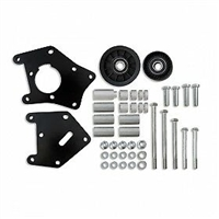 GM Car LS1/LS2 A/C Compressor Relocation Bracket BLACK