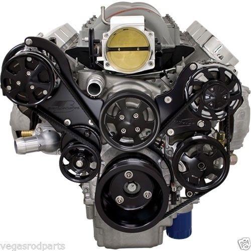 Ls6 Engine Code: Tru Trac Serpentine Pulley Belt LS 1 2 3 6 Side Mount