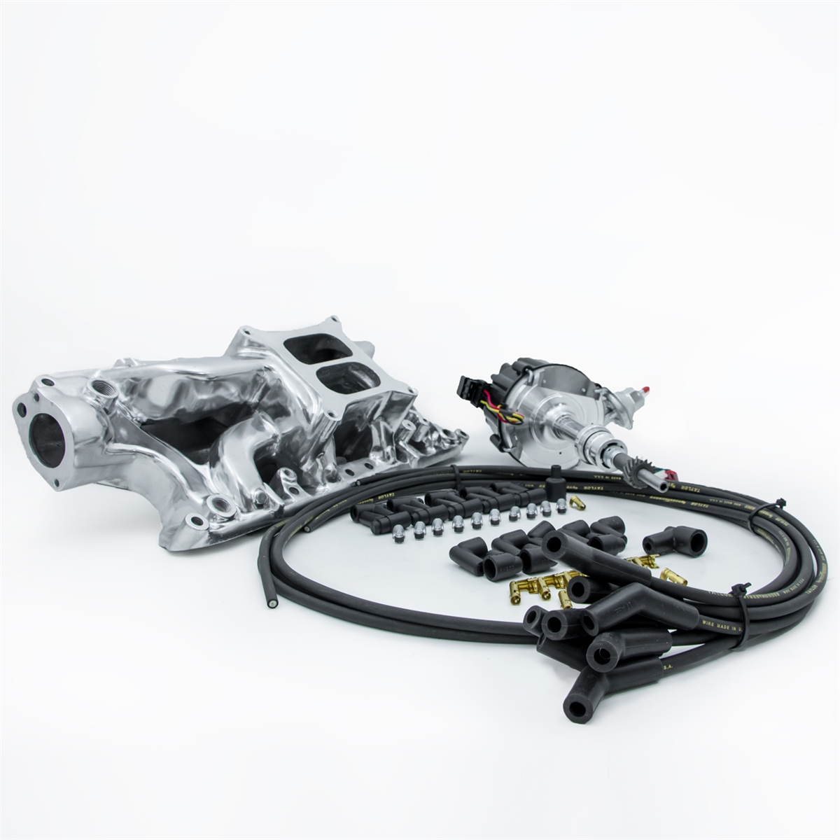 Ford Mustang 50 Liter Cid 302 Conversion Kit Efi To Carb Intake For A Wiring Harness Kits Distributor