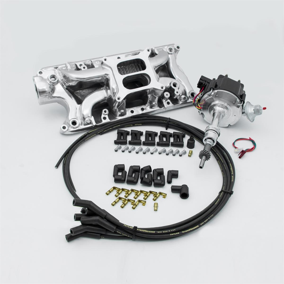 Ford Mustang 5 0 Liter Cid 302 Conversion Kit Efi To Carb Intake Distributor