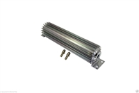 "Transmission Cooler Tube and Finned 12 "" inch single pass design universal aluminum"