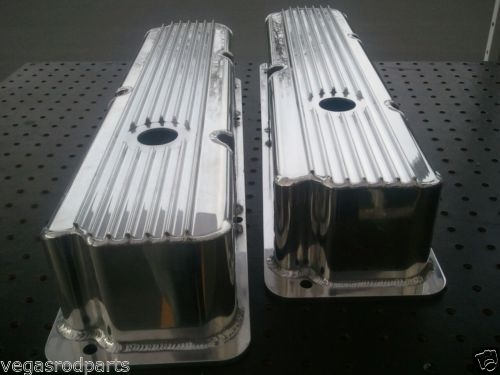 Valve Covers Big Block Ford Fe Fabricated Polished