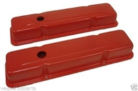 Pair For SB Chevy 283-350 Racing Power Company R9216 Short Valve Cover