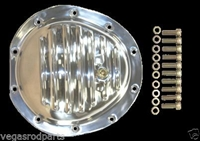 polished aluminum Differential front Cover GM 10 Bolt Truck 4x4 chevy gmc gm 8.5