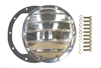 "Differential Cover polished aluminum GM 8.5"" Truck car 10 bolt camaro chevy"