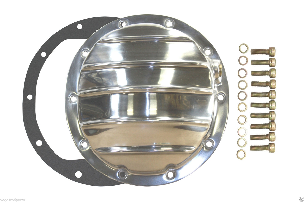 Differential Cover polished aluminum GM 8 5