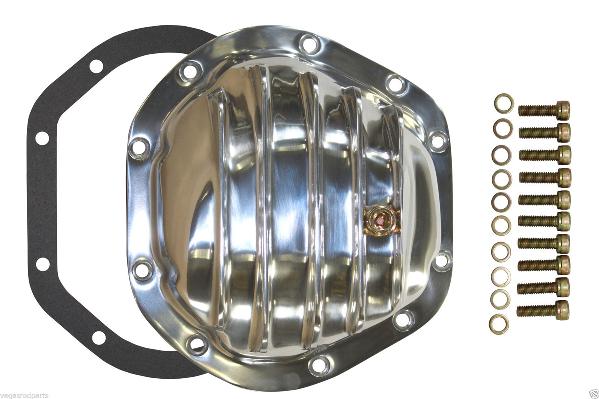 GM Ford Dodge Chrome Differential Cover Dana 80 Steel Diff Duallie 3500 2500 rea
