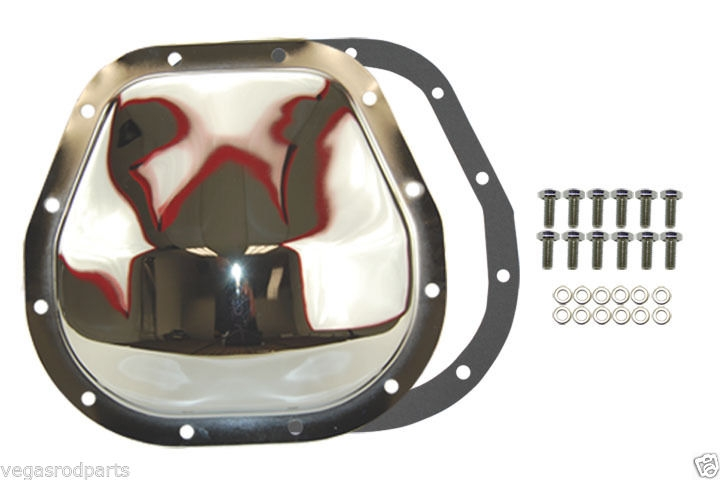 Jeep DODGE RAM 12 BOLT CHROME 9 1//4 REAR END DIFFERENTIAL COVER steel mopar
